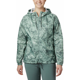 Columbia Flash Forward Printed Windbreaker Jas Dames, light lichen rubbed texture